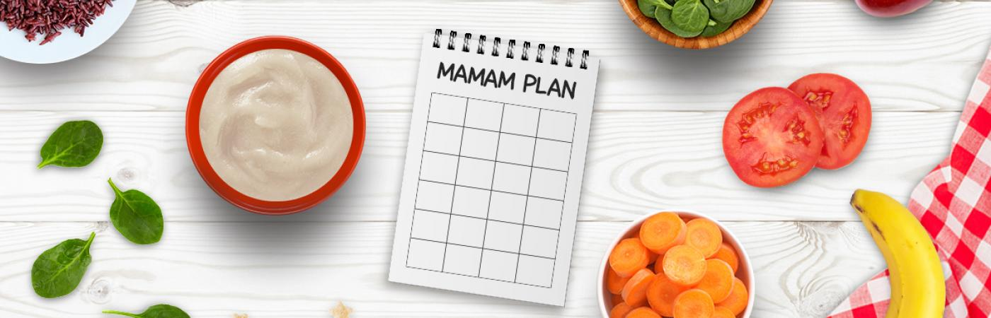 Awal Sehat Nestle, Contoh Meal Planner Tool